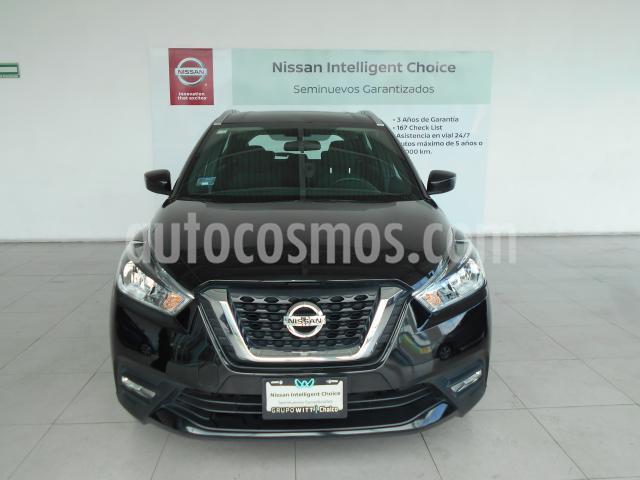 Nissan Kicks 5P ADVANCE L4/1.6 AUT usado (2019) color Negro precio $339,000
