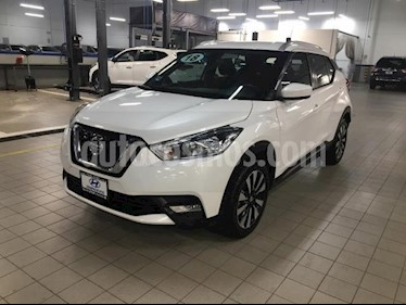 Nissan Kicks 5p Advance L4/1.6 Aut usado (2018) color Blanco precio $279,000