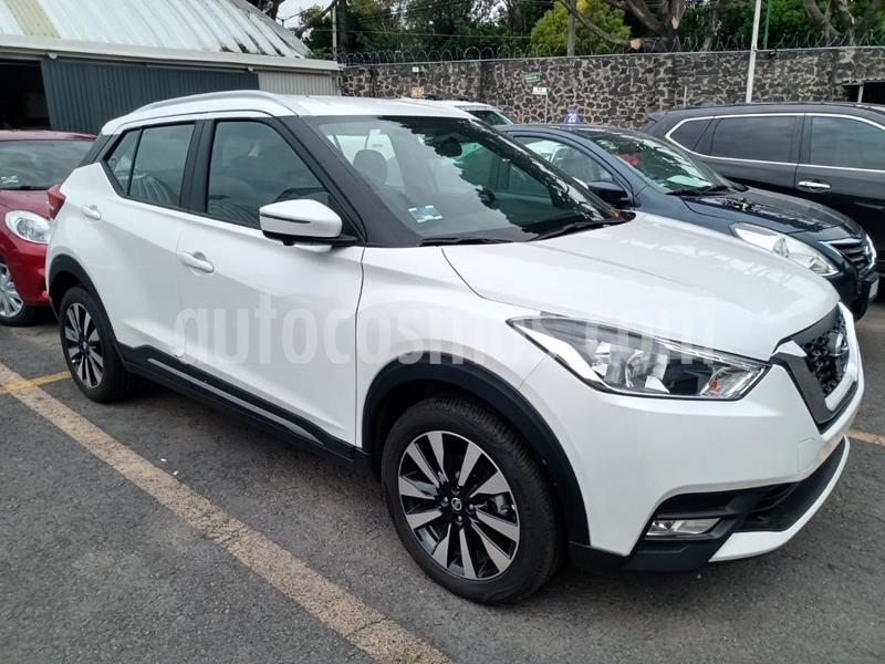 Nissan Kicks Advance Aut usado (2020) color Blanco precio $340,000