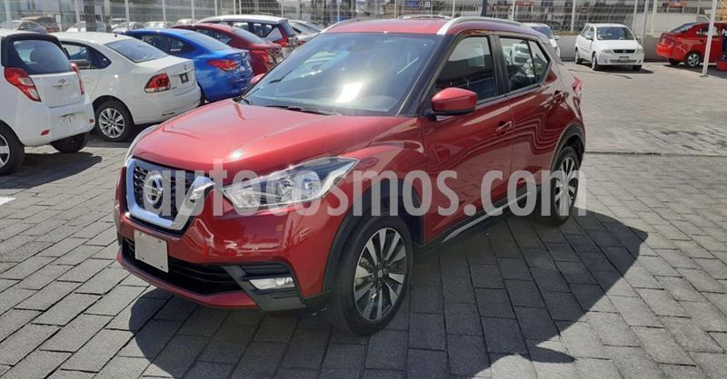 Nissan Kicks Advance Aut usado (2020) color Rojo precio $293,900