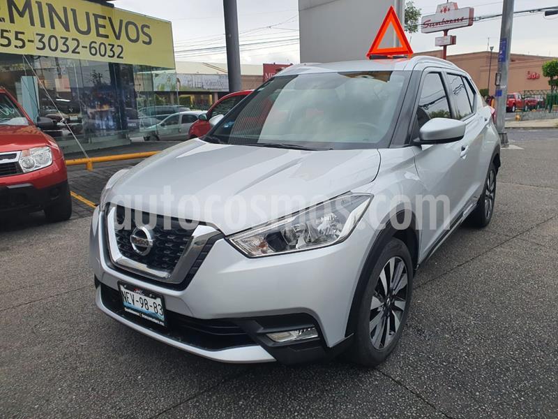 Nissan Kicks Advance Aut usado (2018) color Plata precio $255,000