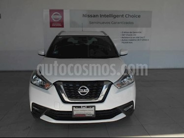 Nissan Kicks 5P ADVANCE L4/1.6 AUT usado (2018) color Blanco precio $295,000