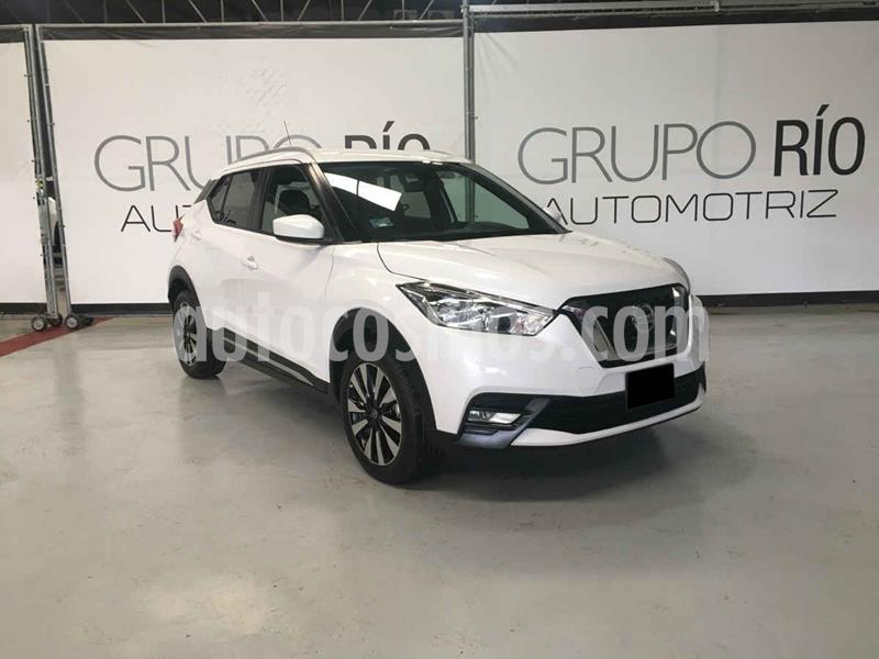 Nissan Kicks Advance Aut usado (2018) color Blanco precio $259,000