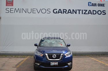 Nissan Kicks Advance Aut usado (2017) color Azul precio $249,900