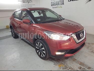 Nissan Kicks Advance Aut usado (2018) color Rojo Metalizado precio $259,000