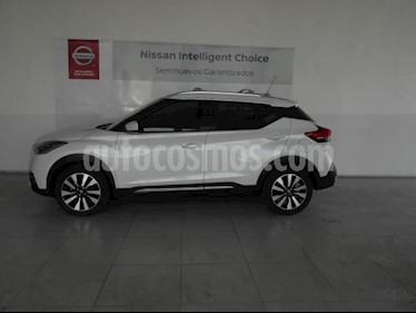 Nissan Kicks 5P ADVANCE L4/1.6 AUT usado (2019) color Blanco precio $299,000
