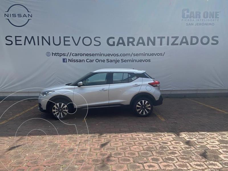 Foto Nissan Kicks Advance Aut usado (2020) color Blanco precio $330,000