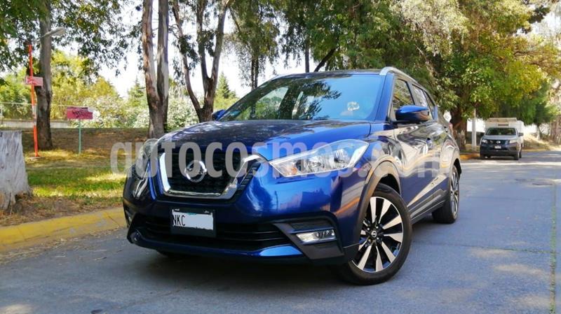 Nissan Kicks Exclusive Aut usado (2019) color Azul precio $309,000
