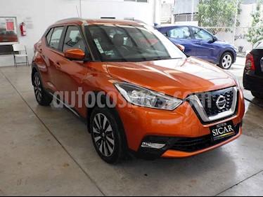 Nissan Kicks Exclusive Aut usado (2017) color Naranja precio $249,000