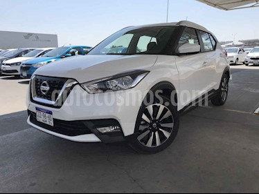 Nissan Kicks 5p 1.6 ADVANCE LTS CVT A/C usado (2020) color Blanco precio $269,900