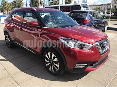 Nissan Kicks ADVANCE CVT usado (2018) color Rojo precio $258,000
