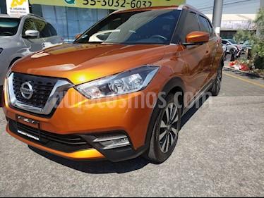 Nissan Kicks Exclusive Aut usado (2018) color Naranja Metalico precio $282,000