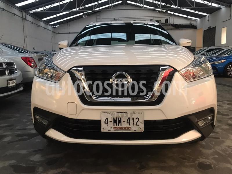 Nissan Kicks Exclusive Aut usado (2020) color Blanco precio $365,900