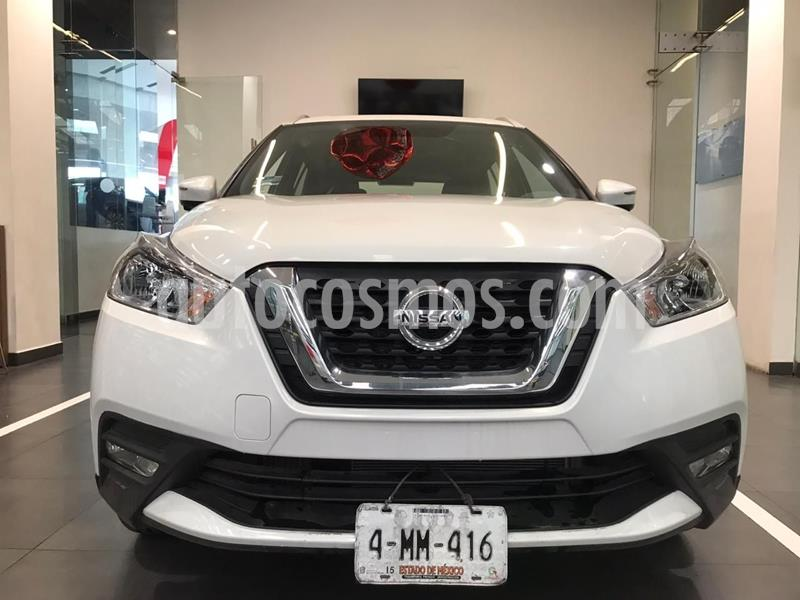 Nissan Kicks Exclusive Aut usado (2020) color Blanco precio $339,900
