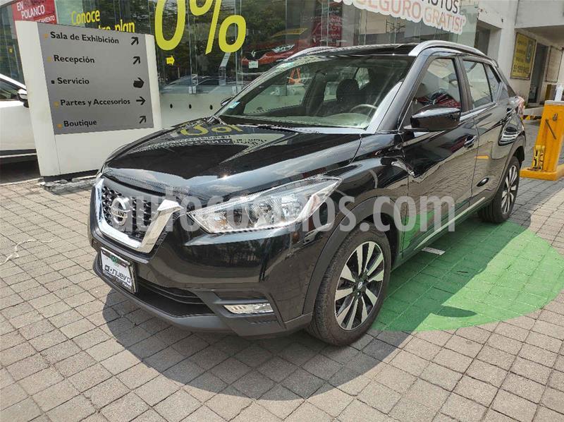 Nissan Kicks Advance Aut usado (2018) color Negro precio $255,000