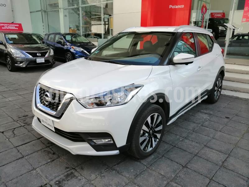 Nissan Kicks Exclusive Aut usado (2020) color Blanco precio $385,000