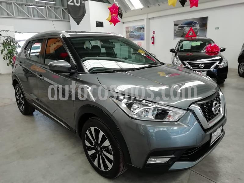 Nissan Kicks Exclusive Aut usado (2019) color Gris precio $305,000