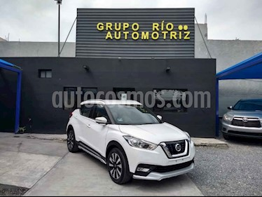 Nissan Kicks Exclusive Aut usado (2017) color Blanco precio $265,000
