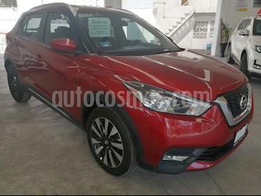 Nissan Kicks Advance Aut usado (2018) color Rojo Metalizado precio $260,000