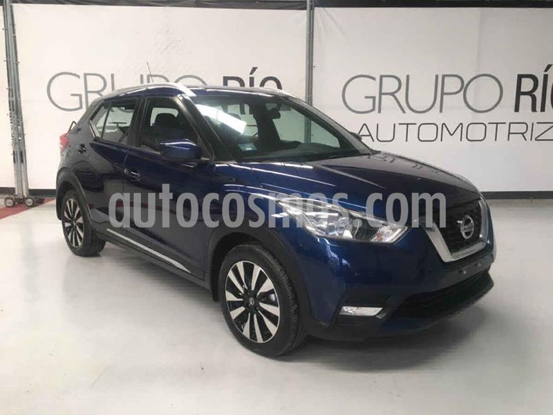Nissan Kicks Advance Aut usado (2017) color Azul precio $239,000