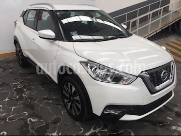 Nissan Kicks 5p Advance L4/1.6 Aut usado (2018) color Blanco precio $275,000