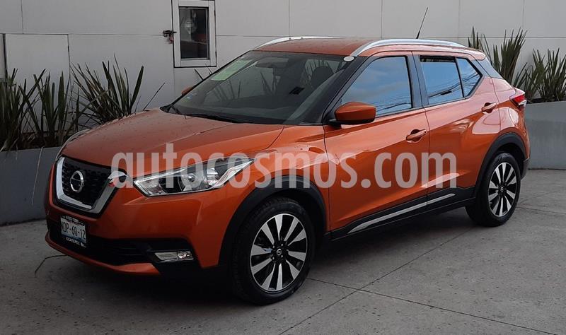 Nissan Kicks Advance Aut usado (2017) color Naranja precio $249,000