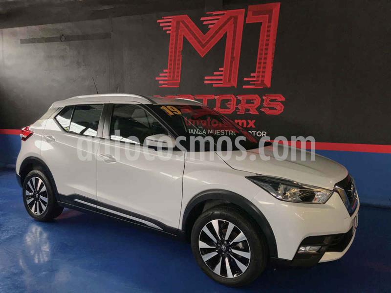 Nissan Kicks Exclusive Aut usado (2019) color Blanco precio $297,000