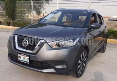 Nissan Kicks Exclusive Aut usado (2017) color Plata precio $252,000