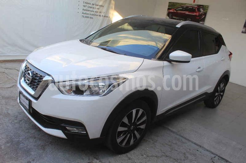 Nissan Kicks Advance Aut usado (2017) color Blanco precio $239,000