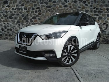 Nissan Kicks Exclusive Aut usado (2019) color Blanco precio $315,000