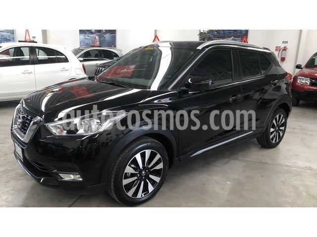 Nissan Kicks Exclusive Aut usado (2020) color Negro precio $340,000