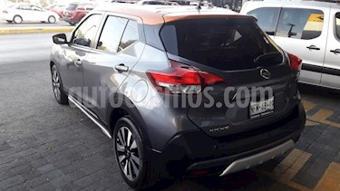 Nissan Kicks Exclusive Aut usado (2019) color Gris Oxford precio $310,000