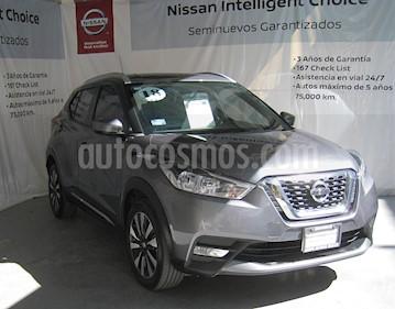 Nissan Kicks Advance Aut usado (2018) color Gris precio $265,000
