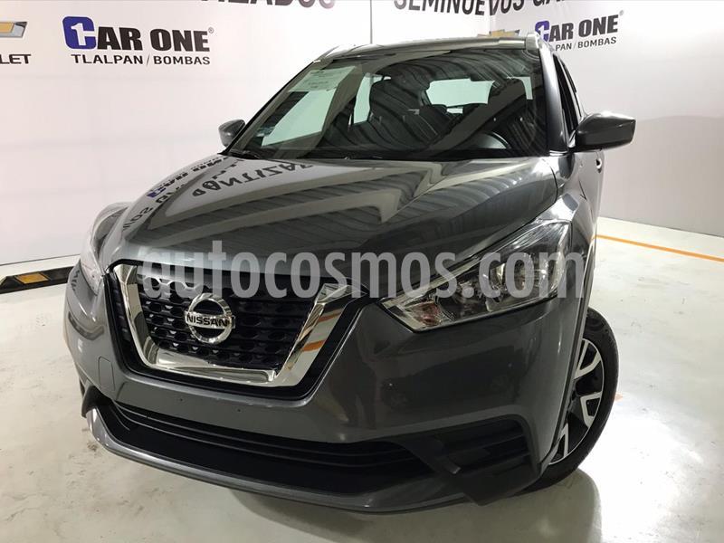 Nissan Kicks Sense usado (2020) color Gris Oxford precio $299,000