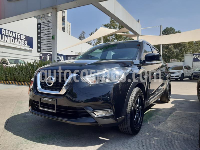 Nissan Kicks Advance Aut usado (2019) color Negro precio $285,000
