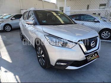 Nissan Kicks Exclusive Aut usado (2017) color Plata precio $249,000