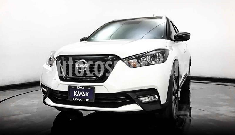 Nissan Kicks Edicion Especial Dark Light Aut usado (2018) color Blanco precio $317,999