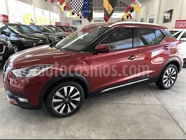 Nissan Kicks Advance Aut usado (2017) color Rojo Metalizado precio $260,000