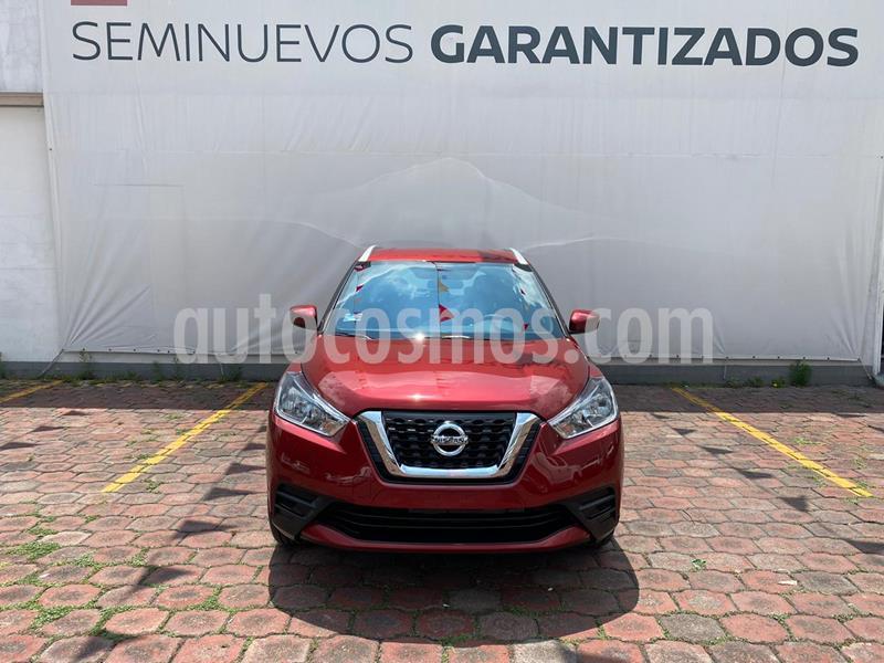 Nissan Kicks Sense usado (2020) color Rojo precio $299,000