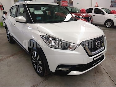Nissan Kicks Advance Aut usado (2018) color Blanco precio $275,000