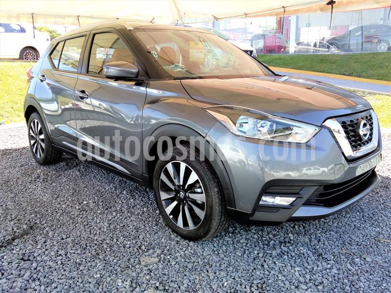 Nissan Kicks Exclusive Aut usado (2019) color Gris precio $343,521