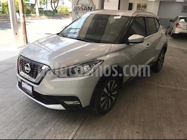 Nissan Kicks 5P ADVANCE L4/1.6 AUT usado (2018) color Plata precio $285,000
