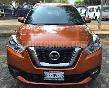 Nissan Kicks Advance Aut usado (2018) color Naranja Metalico precio $259,990