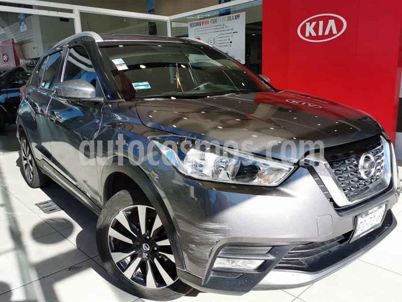 Nissan Kicks Exclusive Aut usado (2017) color Gris precio $235,000
