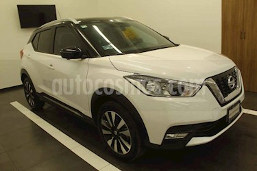 Nissan Kicks 5p Exclusive L4/1.6 Aut usado (2019) color Blanco precio $324,000