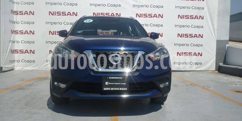 Nissan Kicks Advance Aut usado (2019) color Azul Cobalto precio $270,000