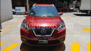 Nissan Kicks Advance Aut usado (2017) color Rojo precio $239,000