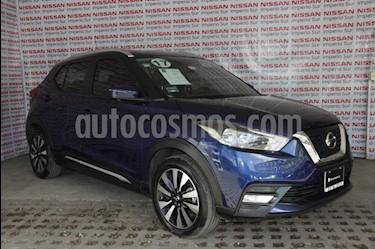 Nissan Kicks Exclusive Aut usado (2017) color Azul Cobalto precio $245,000