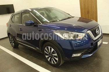 Nissan Kicks 5p Advance L4 Aut usado (2018) color Azul precio $265,000