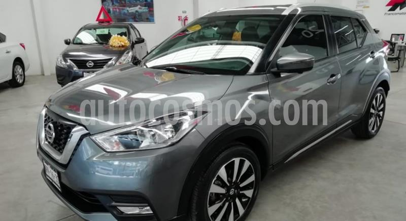 Nissan Kicks Exclusive Aut usado (2019) color Gris Oxford precio $305,000
